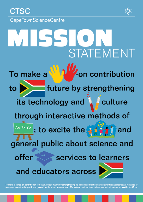 Cape Town Science Centre Mission Statement Cape Town Science Centre