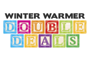 winter warmer double deals