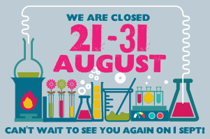 CTSC Closed, 21 - 31 August 2015