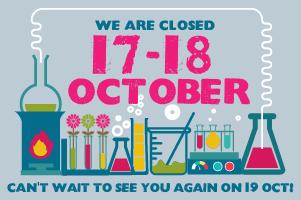 CTSC Closed 17 & 18 October