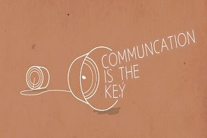 Communication is key 300 x 200